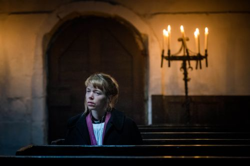 Anna Maxwell Martin as Merrily Watkins.