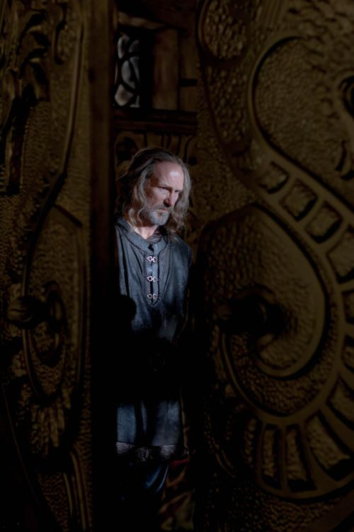 William Hurt as Hrothgar.