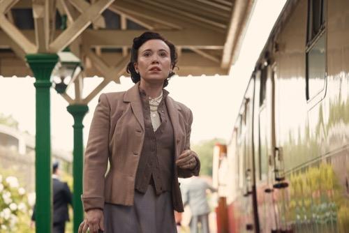 Daisy Lewis as Mary.