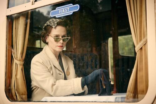 Tara Fitzgerald as Diana.