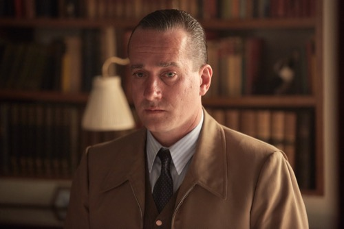 Matthew Macfadyen as Randolph Churchill.