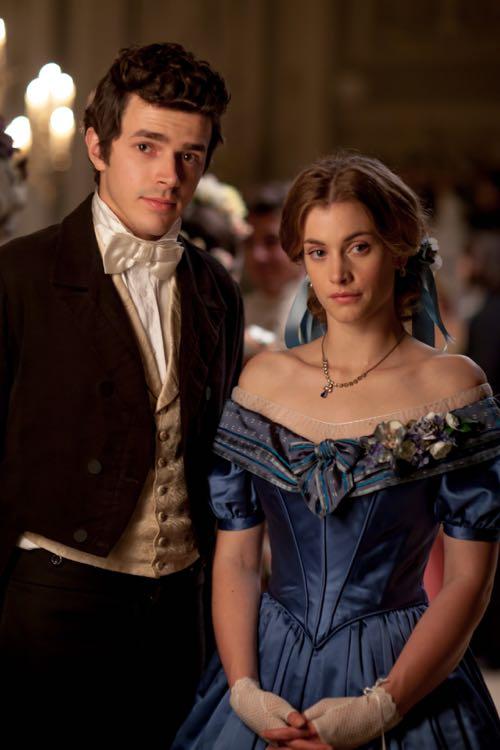 Harry Richardson (Frank) and Stefanie Martini (Mary).