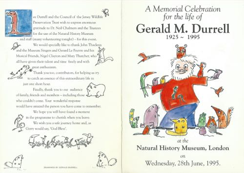 Gerald Durrell Memorial 2