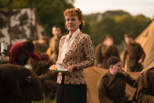 Samantha Bond as Frances.