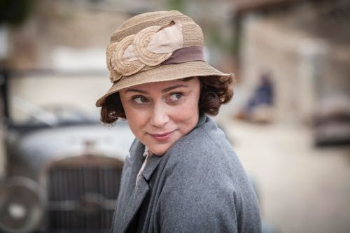 Keeley Hawes as Louisa Durrell.