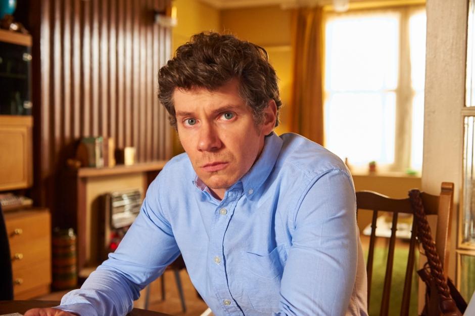 Karl Davies as Terry.