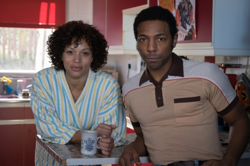Angela Griffin as Nita and Don Gilet as Kieren.