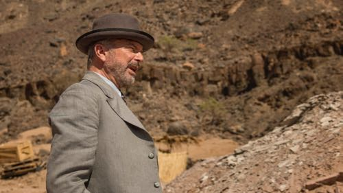 Sam Neill as Lord Carnarvon.