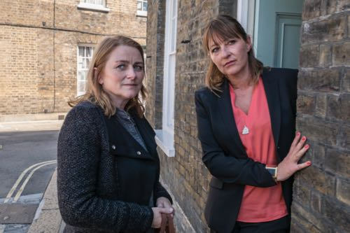 Rosie Cavaliero (Marion) and Holly Aird (Elise).